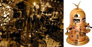 VFA Gold Dome 1930s Espresso Machine And Other Fantastic Belle Epoque Creations Can Still Be Found In Select Mostly European Establishments