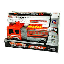 100 Fire Trucks Toys City Defender Truck With Lights Sounds And Water Cannon