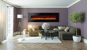 Wall Mounted Electric Fireplace Ideas In Living Room