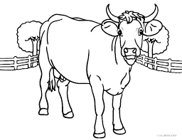 Lion Head Coloring Pages Realistic Horse Cow Page Free Printable For Kids Of