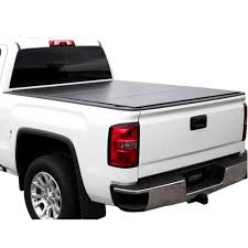 100 Truck Bed Caps LOMAX TriFold Cover 0717 Toyota Tundra 6ft 6in Wo Deck