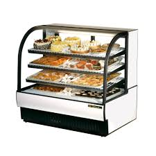 True Curved Glass Refrigerated Bakery Case Model