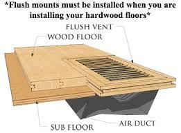 Adjustable Floor Register Deflector by 100 Floor Register Vent Deflector 100 Adjustable Floor