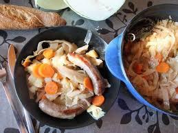 recettes de potée et chou blanc