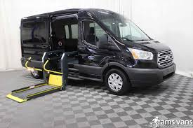 Wheelchair Accessible Xlt Passenger Exterior And Interior Ford Transit Van Conversion For Sale