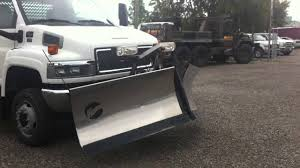 100 Plow Trucks For Sale 2007 GMC C5500 4x4 Dump With And Salter YouTube