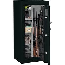 stack on 24 gun fire resistant security safe with electronic lock