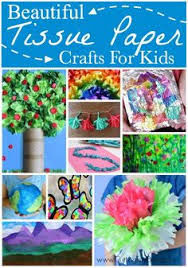 Beautiful Tissue Paper Crafts For Kids