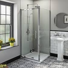 The Bath Co Winchester Traditional 6mm Square Pivot Shower Enclosure