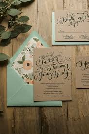 Keep Your Wedding Invitations Rustic But Dont Be Afraid To Add A Pop Of Color And Flowers