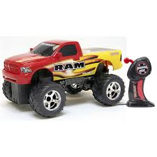 100 New Bright Rc Trucks Remote Control RC Dodge Ram OffRoad Truck WOffRoad Tires