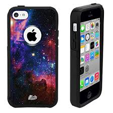Amazon iPhone 5c Case Black Galaxy Nebula Generic for