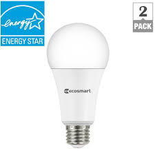 ecosmart 100w equivalent daylight a19 dimmable led light bulb 2