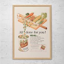 Retro KITSCH KITCHEN AD Mid Century Ad Vintage