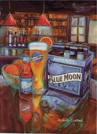 Harvest Pumpkin Ale Blue Moon by Blue Moon U2013 Garnished With An Orange Slice An Amateur Beer