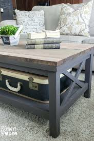 End Tables And Coffee Table Best Cover Ideas On 6 Crate