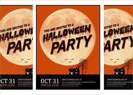 Free Halloween Invitation Templates Microsoft by 30 Download Free Flyer Templates In Microsoft Word Format Free