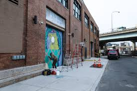 Philly Mural Arts Events by Nda Installs For Mural Arts At The Fillmore In Fishtown Streets Dept