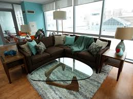 fascinating 30 living room ideas teal and brown inspiration of