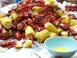 Crawfish Boil Table Decorations by How To Hosting A Crawfish Boil Party Fine Magazine May 2015