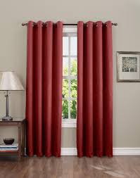 Teal Blackout Curtains Canada by Colormate Hanson Room Darkening Grommet Window Panel Sears