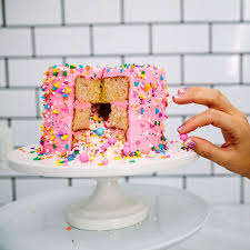 How to Make Sprinkle Surprise Cake