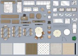 Simple Office Interior Elements Top View Set By Macrovector GraphicRiver