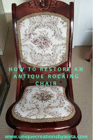 How To Restore An Antique Rocking Chair   DIY & Home Improvements ... How To Paint An Outdoor Metal Chair Howtos Diy 10 Rocking Ideas To Choose Upholster A Part 1 Prodigal Pieces Broken Repurposed Into Shelf Vintage Makeover Noting Grace Yard Sale Addicted 2 Liverpool Antique Oak Fabric Arm Platform Glider Dtown Oklahoma City Leisure Made Pearson White Wicker With Tan Cushions 2pack Wood Log Wooden Porch Rustic Rocker Diy Plans Nanny Network