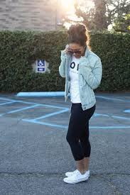20 Style Tips On How To Wear Leggings Converse FashionConverse Shoes OutfitSummer