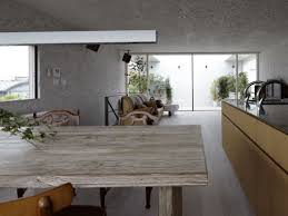 Rustic Wood Dining Table Modern Home Dark Glass Kitchen Countertop