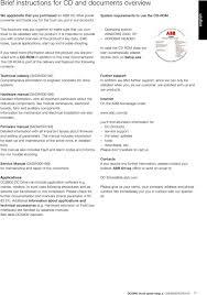 DCS800 Quick Guide En De Se Pt DCS800 Drives 20 A To 5200 A PDF