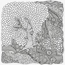 Single Flower Coloring Page