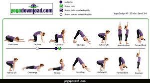 Basic Yoga Poses Chart