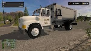 100 Feed Truck International V10 FS17 Farming Simulator 17 Mod FS