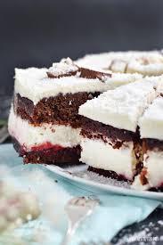 herzfutter food verschneite himbeer kokos schoko torte