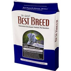 Dr. Gary's Best Breed Holistic Large Breed Dry Dog Food 30-lb