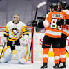 Farabee has four-point game as Flyers beat Penguins