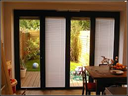 Sliding Door With Blinds In The Glass by Sliding Patio Door Blinds Home Depot Patios Home Decorating