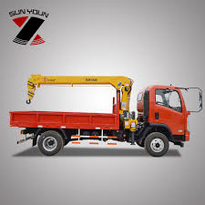 4*2 Mobile Mini Truck Mounted Crane Manufacture With Factory Price ...