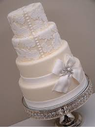 Beautiful white and ivory wedding cakes with delicate fanciful and stunning textures