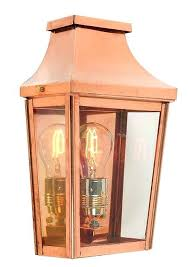 outdoor copper light fixtures rue royal large outdoor wall mount