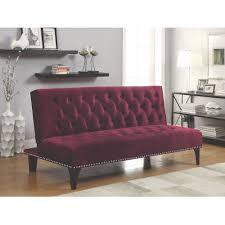 Trundle Beds Walmart by Coaster Company Burgundy Sofa Bed Walmart Com