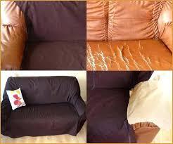 prot ge canap cuir housse de canapé cuir comme référence correctement refaire housse