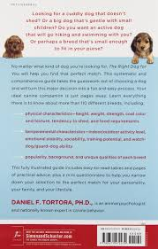 Big Dogs That Shed The Least by Right Dog For You Daniel F Tortora 9780671472474 Amazon Com Books
