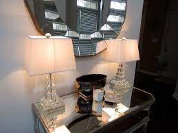 Drexel Heritage Lamps Crystal by Astonishing Home Goods Lamps On A Wooden Table Drawers In The