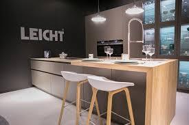 leicht küchen auf der living kitchen 2017