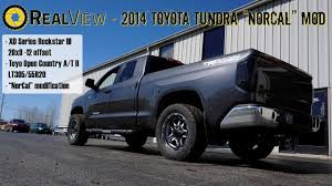100 Norcal Truck RealView 2014 Toyota Tundra W NorCal Mod 20 XD Series Rockstar