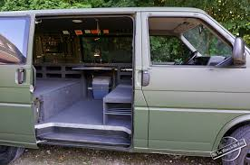Homemade Campervan Conversion Of A VW T4