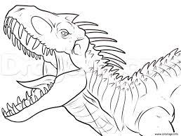 Coloriage Dinosaure King Archives Dessinsite
