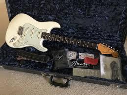 Fender Artist Series John Mayer Stratocaster Olympic White Mint